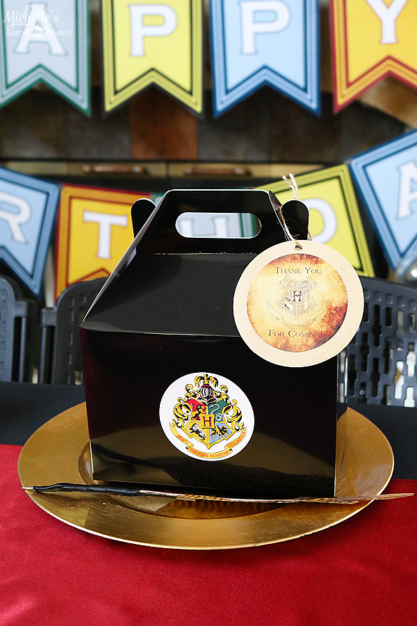 Harry Potter Birthday Party Favor Ideas