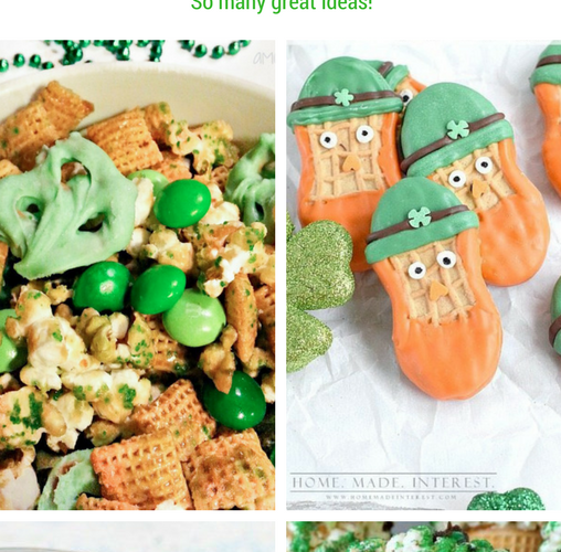 Easy St. Patrick's Day No Bake Treats