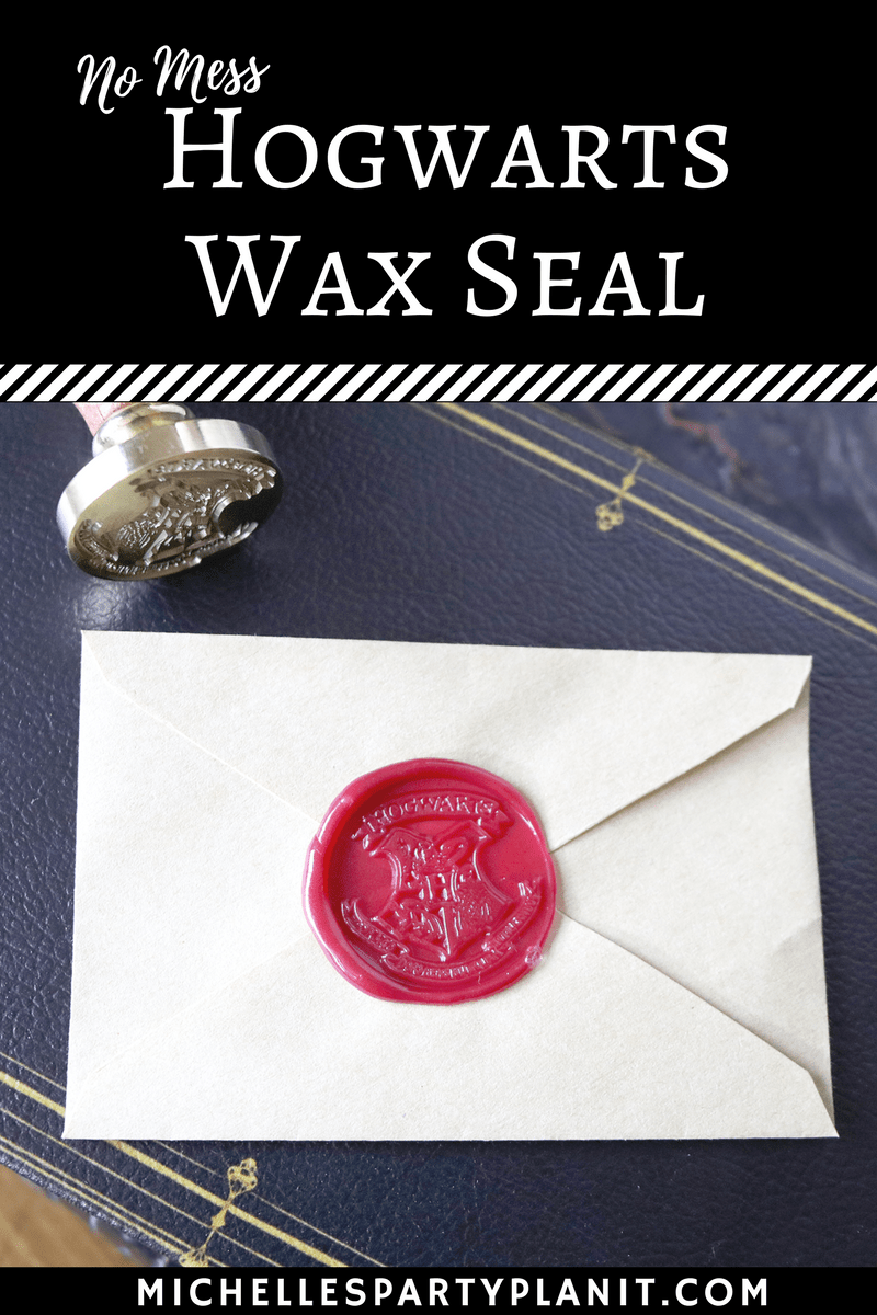 No Mess Hogwarts Wax Seal Whip It Up Wednesday
