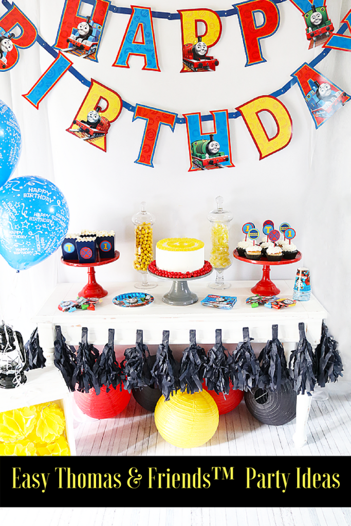 It's a Thomas & Friends ™ Birthday Party with Evite #BirthdayChallenge