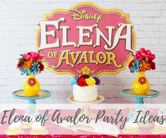 Elena of Avalor Party
