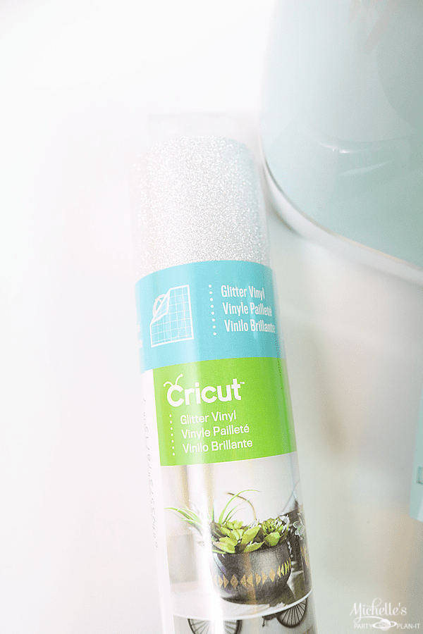 How to personalize your Cricut Explore Air 2 - Cricut Glitter Vinyl