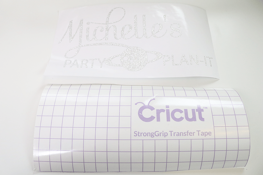 How to personalize your Cricut Explore Air 2 - transfer paper