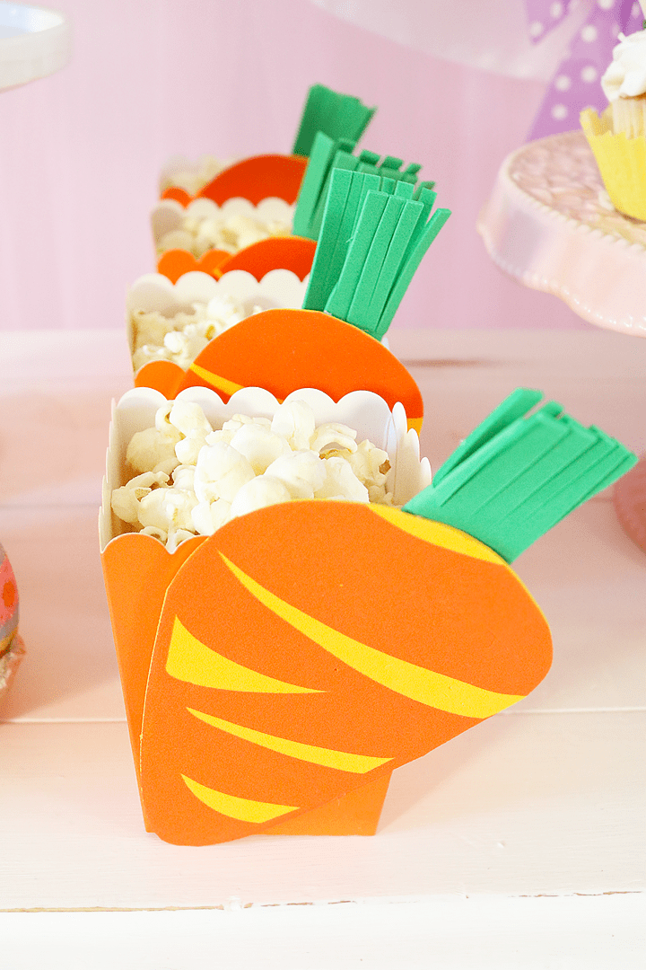 Some Bunny Loves You Easter Party - Carrot Party Favor Boxes