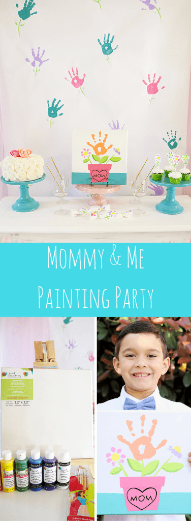 Mommy and Me Painting Party Ideas
