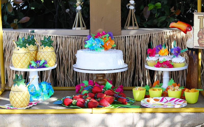 Celebrate with a Bright Luau Party