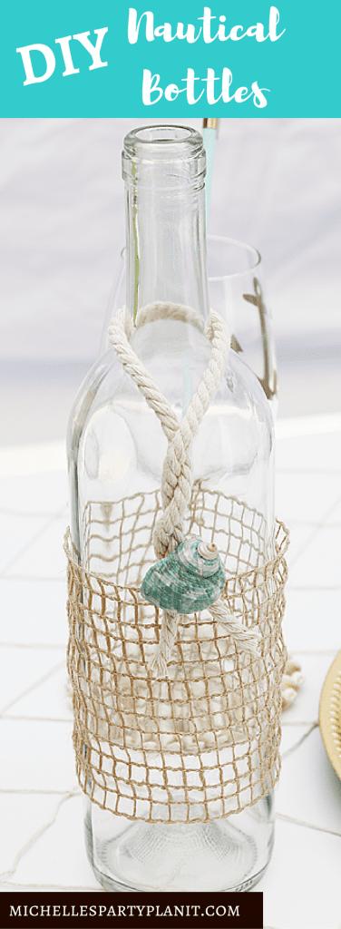 DIY Nautical Bottles