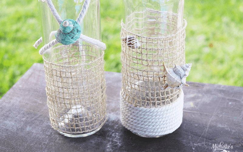 DIY Nautical Bottles | Whip It Up Wednesday
