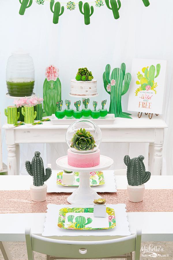 Easy Cactus Party Ideas