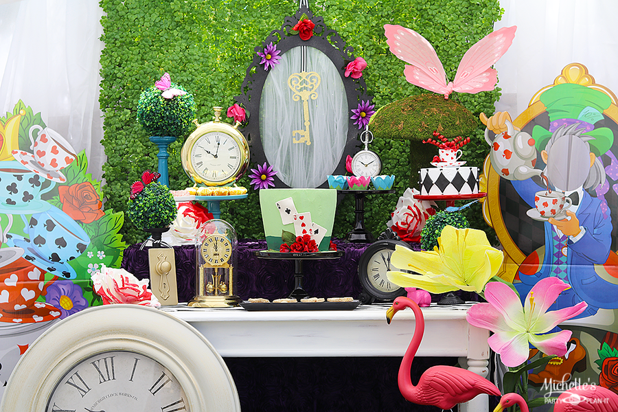 Mad Hatter Tea Party Table