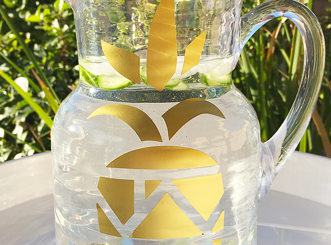 DIY Pineapple Pitcher | Whip It Up Wednesday