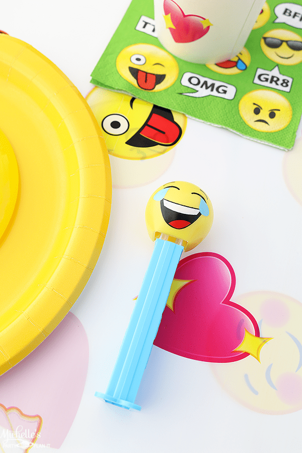 Emoji Pool Party Ideas - Party Favors