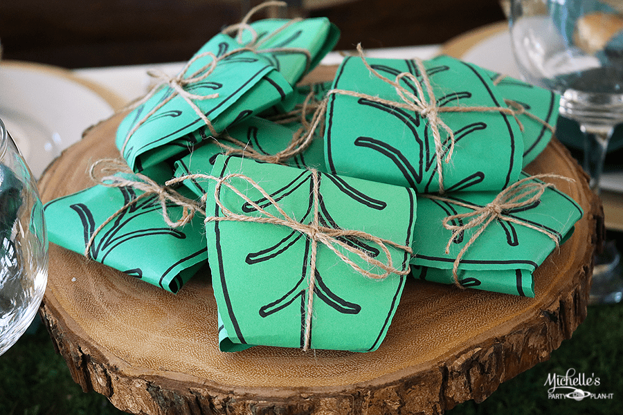 Lord of the Rings Mallorn Leaf Party Favors   Write & Cut with Cricut