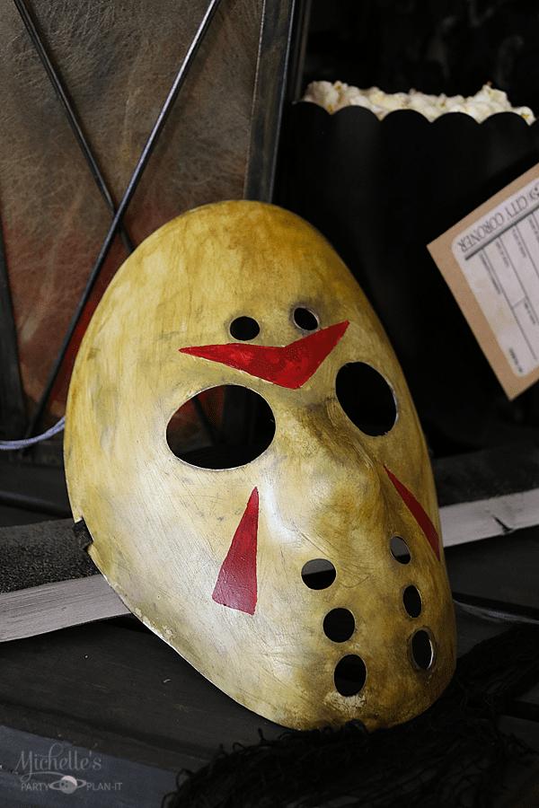 DIY Jason Voorhees Mask