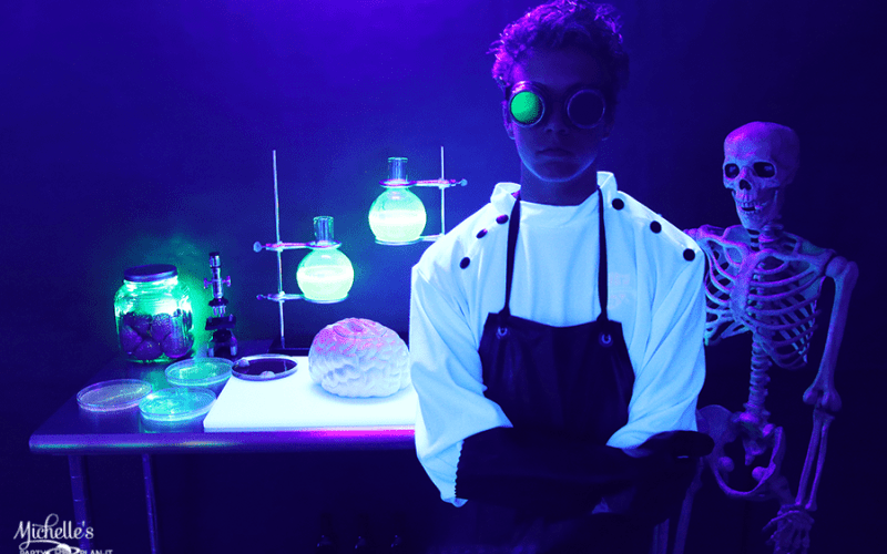 Mad scientist halloween party 3