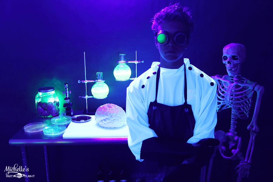 Mad Scientist Halloween Party for Teens