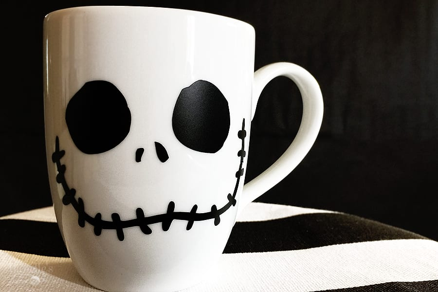 DIY Jack Skellington Mug
