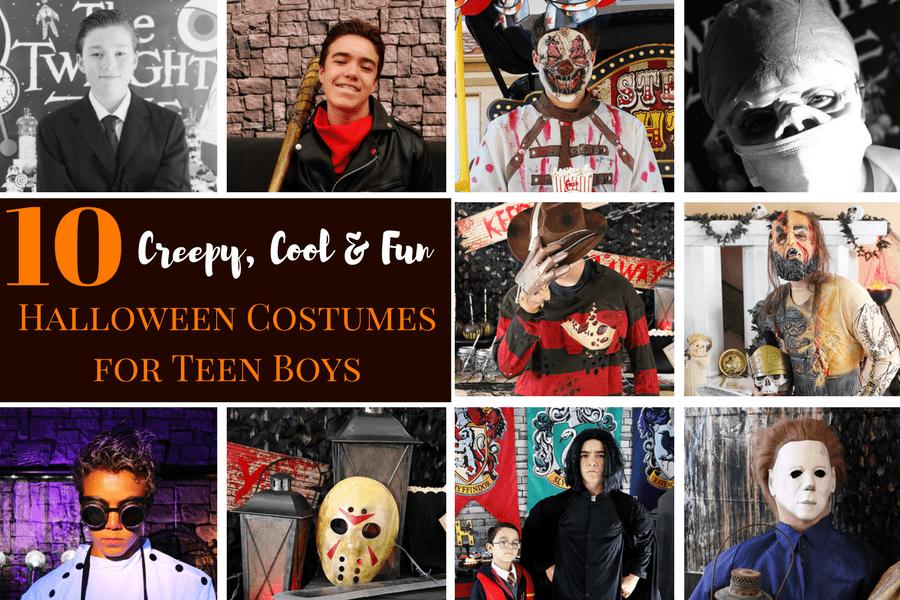 10 Creepy, Cool and Fun Costume Ideas for Teen Boys