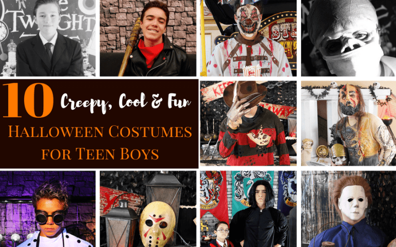 10 Creepy, Cool and Fun Costume Ideas for Teen Boys