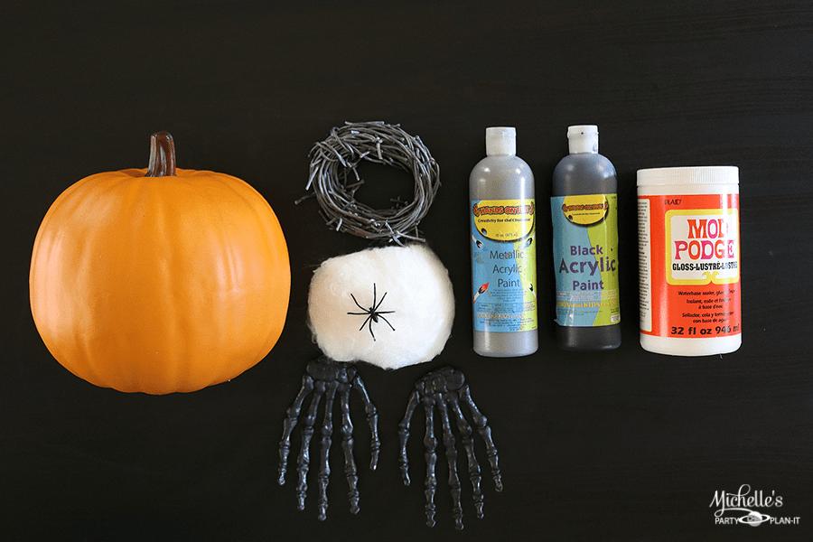 Creepy DIY Pumpkin Decor