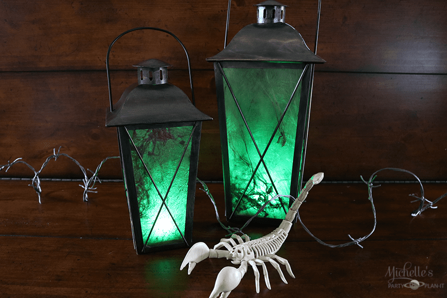 DIY Halloween Lanterns | Halloween Decor