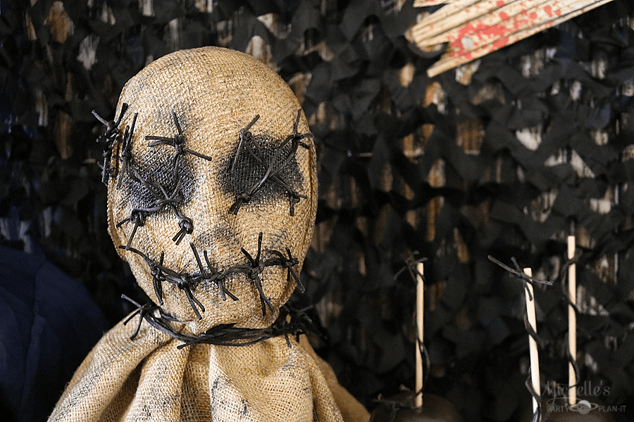 Scary Movie Halloween Party ScarecrowProp