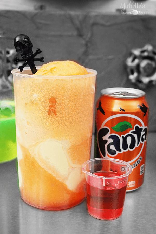 Blood Orange Fanta Floats