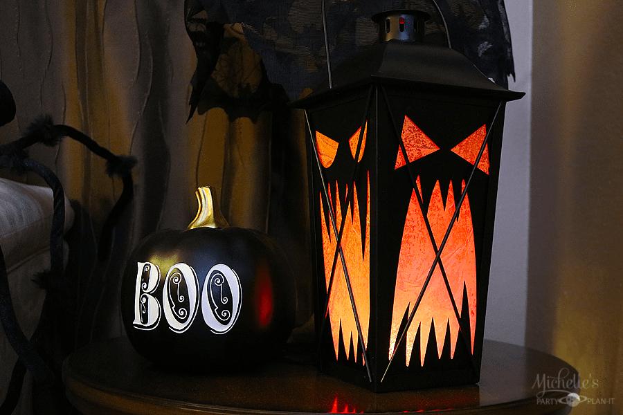 DIY Haunted Mansion Holiday Lanterns
