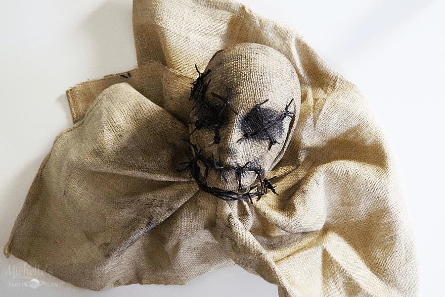 Spooky Scarecrow Halloween Prop