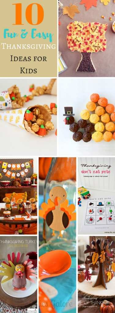 10 Fun and Easy Thanksgiving Ideas for Kids