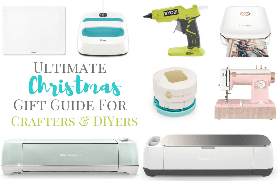 Christmas Gift Guide for Crafters and DIYers