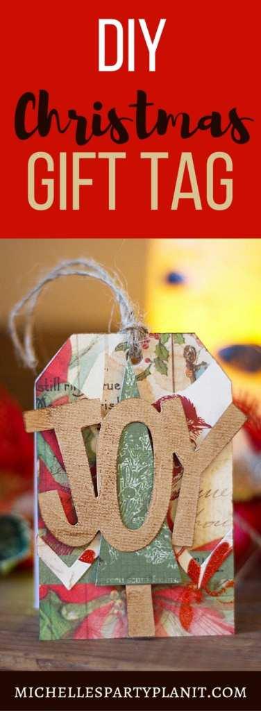 DIY Christmas Gift Tag