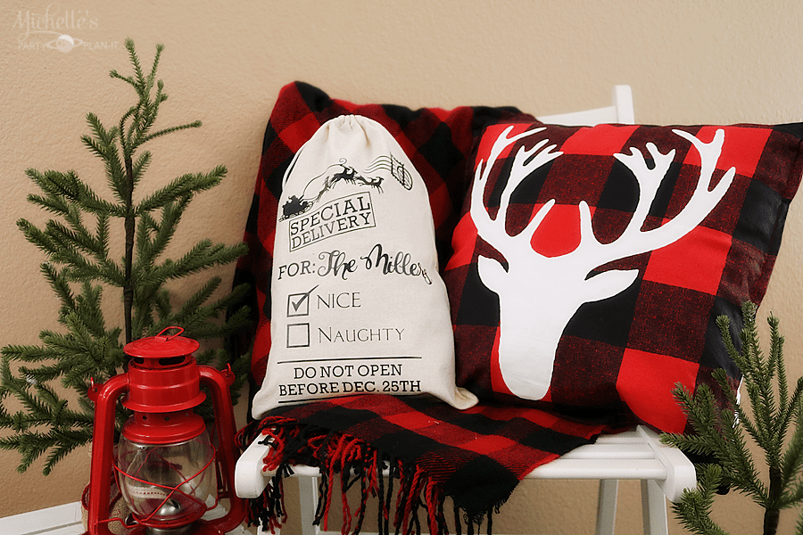 DIY Personalized Santa Sack with Cricut