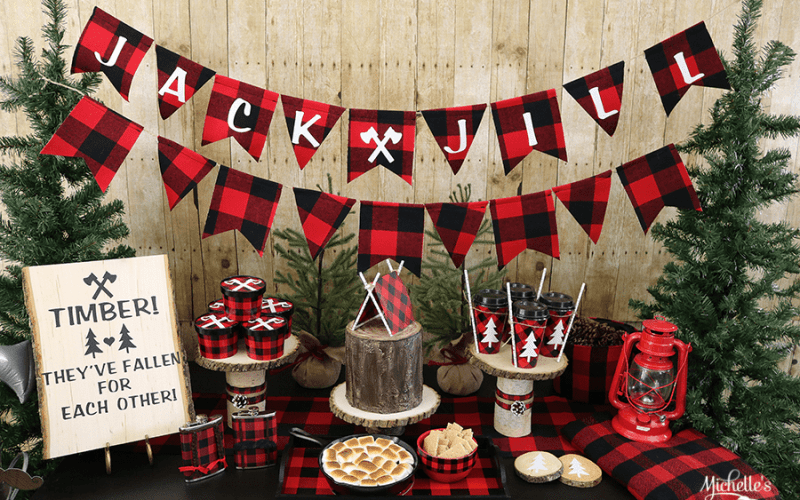 Lumberjack and Jill Couples Wedding Shower Ideas