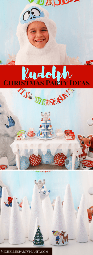 Rudolph The Red Nosed Reindeer Party Ideas