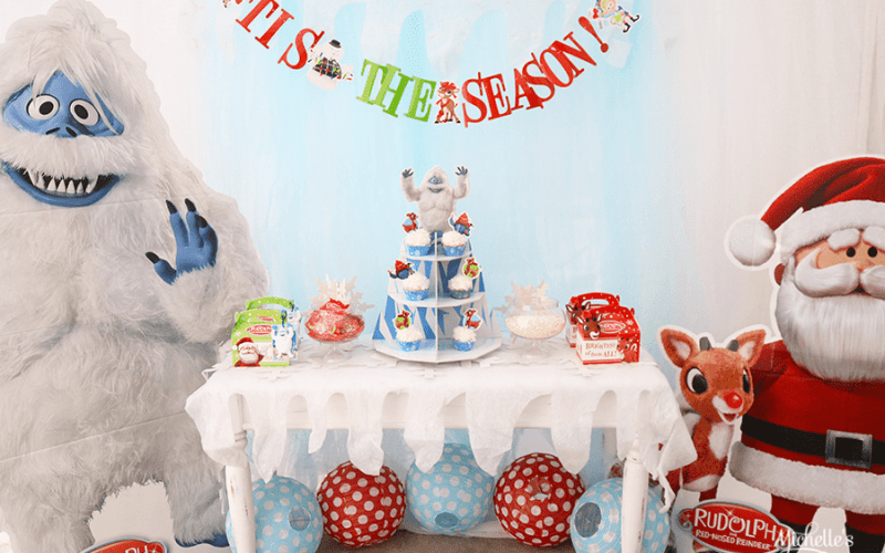Rudolph the red nosed reindeer® party table