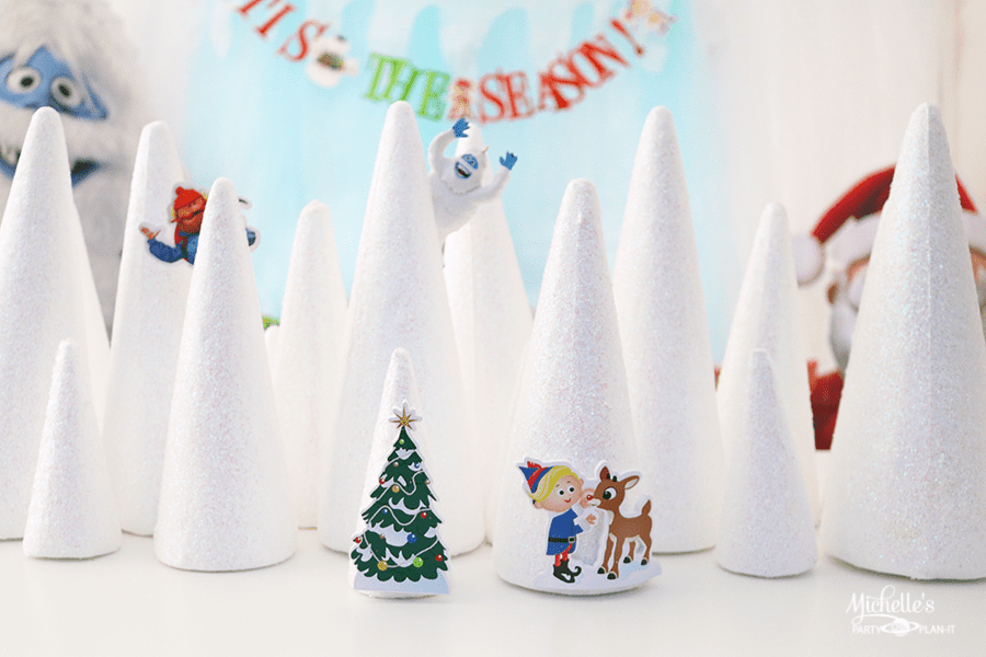 Rudolph the Red-Nosed Reindeer ® Party centerpiece