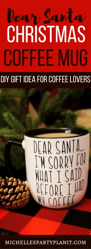 Dear Santa Christmas Coffee Mug