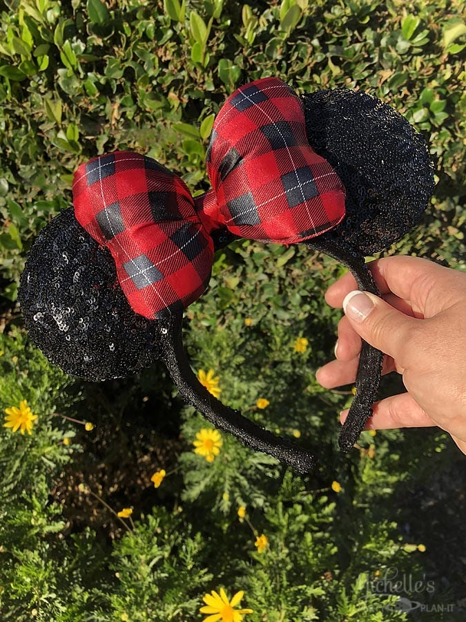Holiday Minnie Mouse Ears