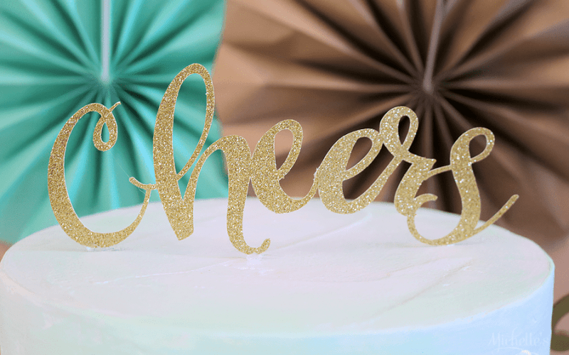 Bubble & Bright New Year's Eve Party + Cricut Maker Giveaway