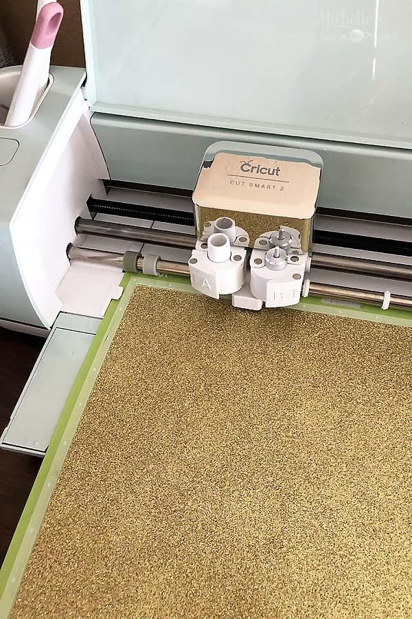 cricut gold cardstock