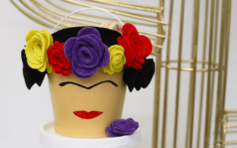 Frida Kahlo Party Favor | 15 Minute Felt Craft Lightning