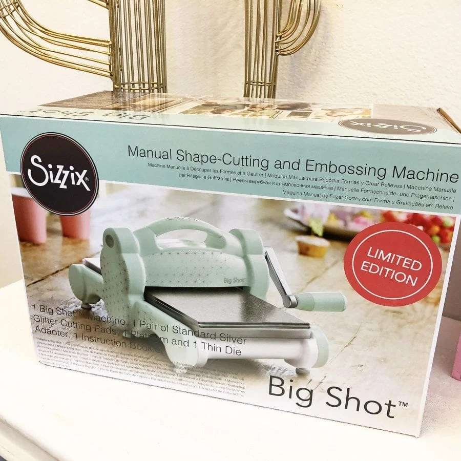 Limited Edition Sizzix Big Shot