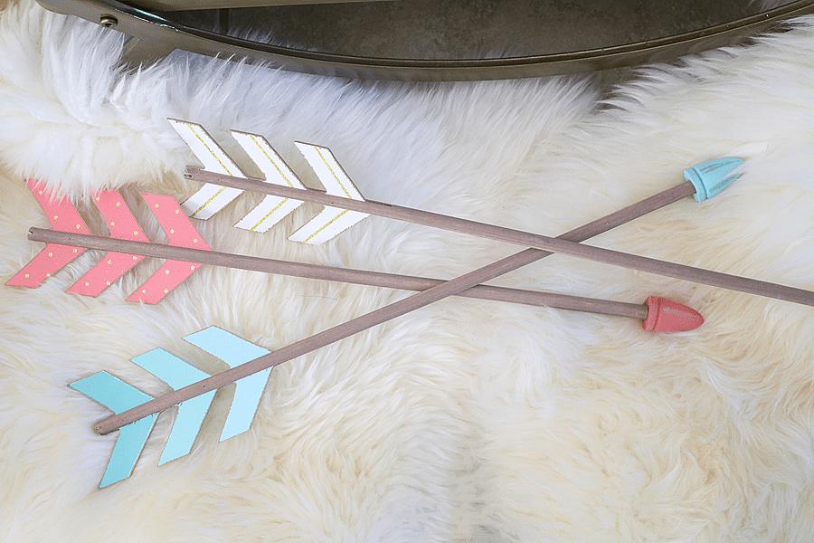 Wooden Arrow Decorations