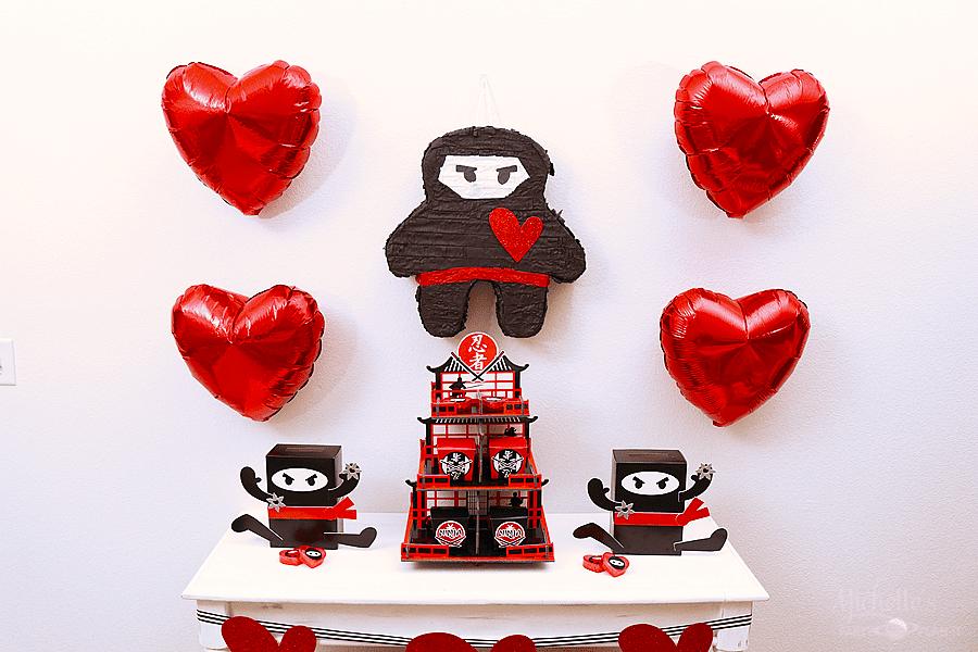 You Stole My Heart, Valentine | Ninja Valentine's Day Party