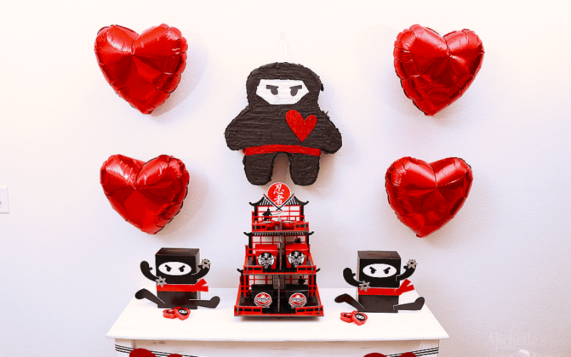 You Stole My Heart, Valentine | Ninja Valentine's Day Party
