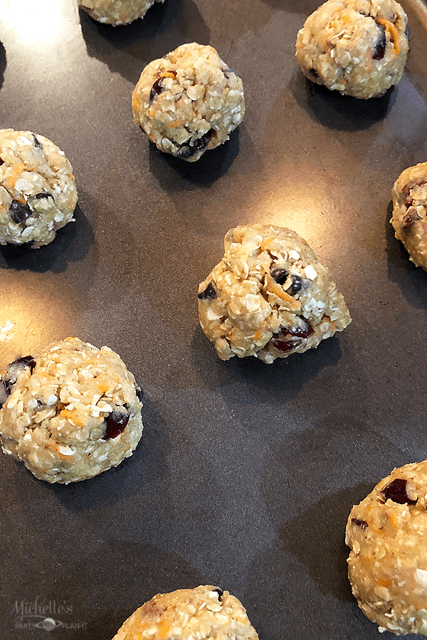 Oatmeal Carrot Chocolate Chip Cookies