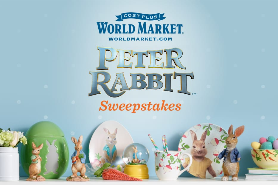 Peter Rabbit Sweeps