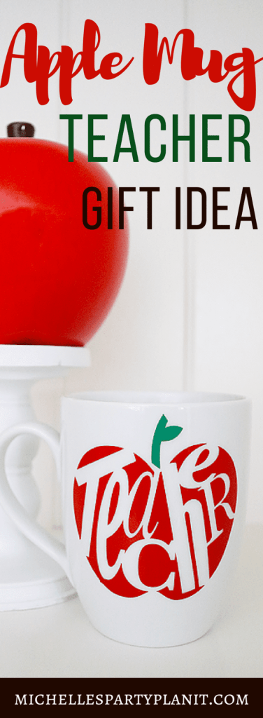 Apple Mug Teacher Appreciation Gift Idea