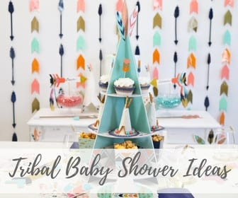 Tribal Baby Shower